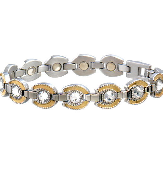 Sabona France Magnetic Bracelet For Women, Horse Shoe Design