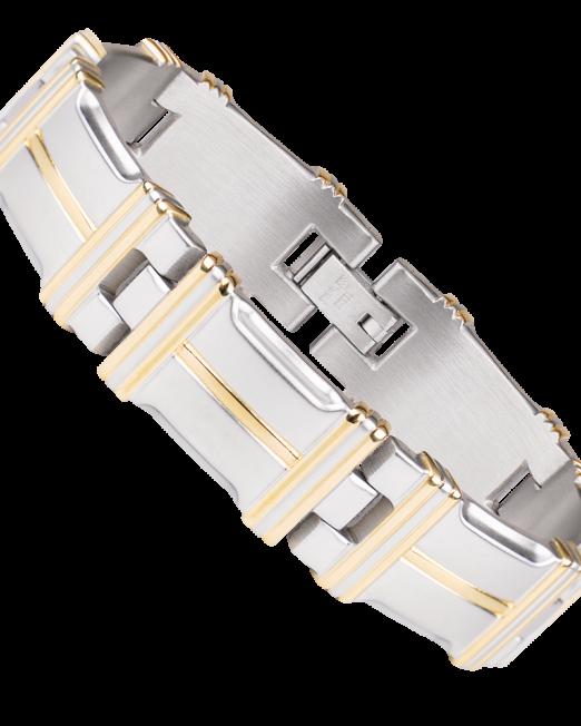 Bracelet Magnétique en acier pour homme
