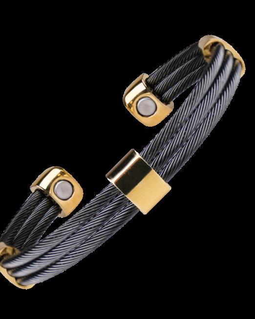 Bracelet Cable Magnétique Sabona