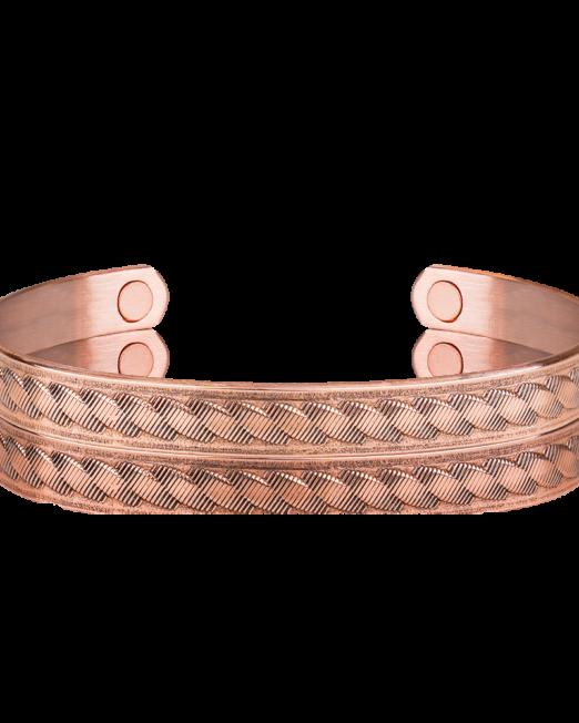 Bracelet Cuivre Avec Les Aimants