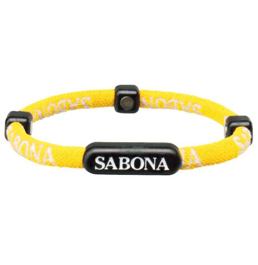 Sabona Yellow Athletic Bracelet
