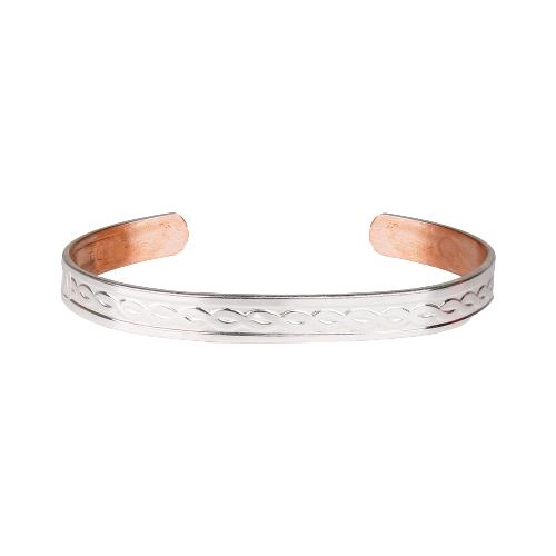 Bracelet Cuivre Argente Sabona S5