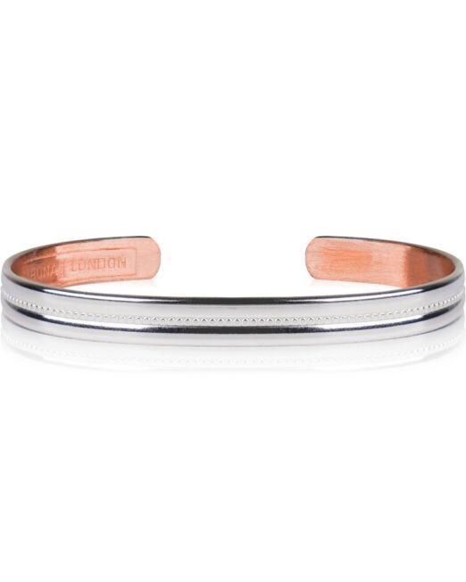 Bracelet Cuivre Argente Sabona S6 3