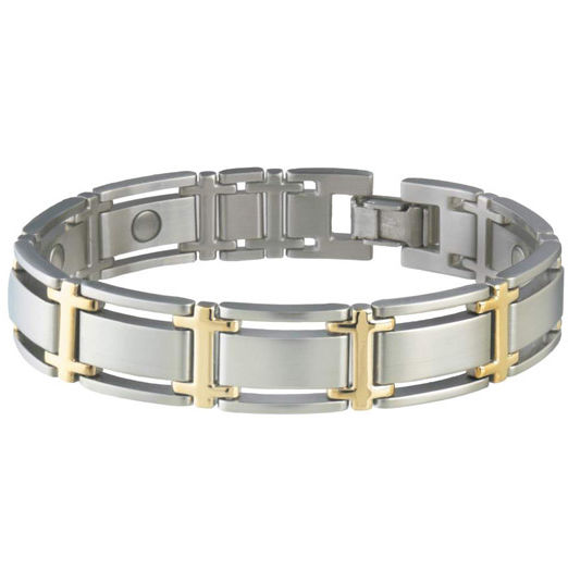 Sabona Magnetic Bracelet Men 346, Executive Symmetry Duet