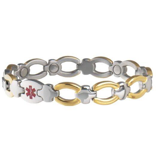 Bracelet Médicale Alerte Femme