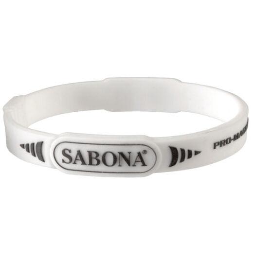 Sabona bracelet sport, pro-magnétique blanc