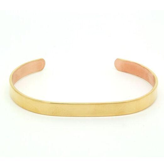 Bracelets Cuivre Plaqué d'Or